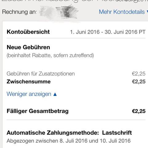 Ich Bekam Ein Email Uber Ebay Rechnung Verkaufer