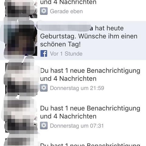 Facebook - (Handy, Facebook, Nachricht)