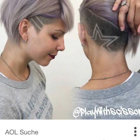 Ich mochte meine haare kurz schneiden