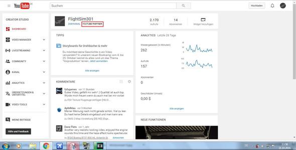 YouTube Partner ? - (Youtube, YouTube-Partner)
