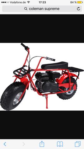 Ich Bin In Der überlegung Das Coleman Ctu Mini Bike Zu Kaufen Jedoch