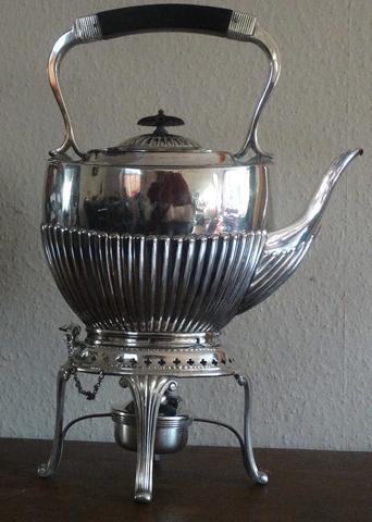 Silber Kanne - (Silber, Antik, Antike Kanne)