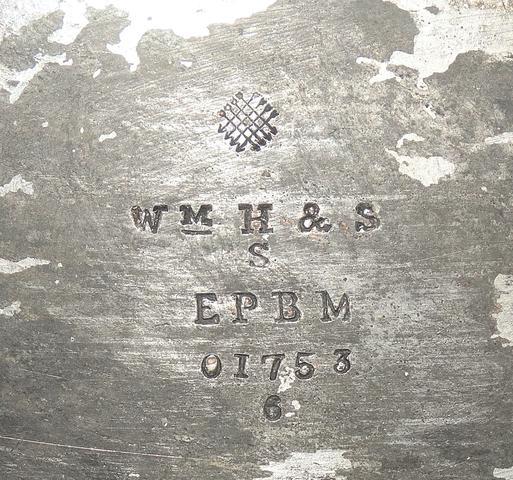 Stempel unten drunter - (Silber, Antik, Antike Kanne)