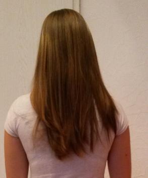 Mittellange haare hinten gestuft