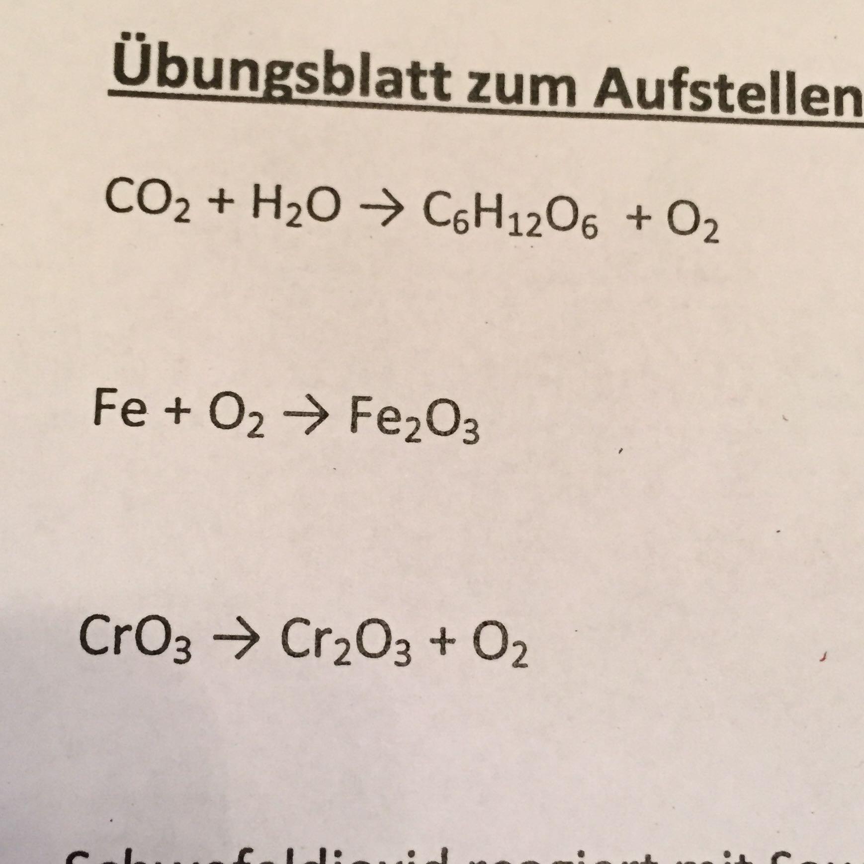 Schön Abschluss Chemischen Gleichungen Arbeitsblatt Zeitgenössisch ...