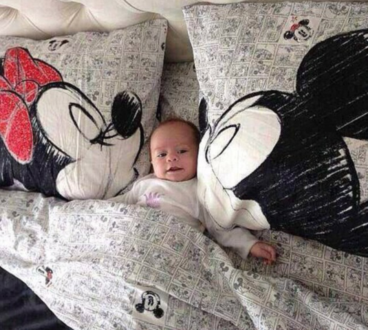 ich hab mal ne frage wo bekommt man so eine bettw sche comic zeichentrick mickey mouse. Black Bedroom Furniture Sets. Home Design Ideas