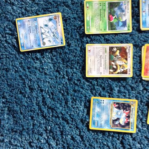 Und ich hab noch mehr sterne und normle - (Pokemon, Karten, Wert)