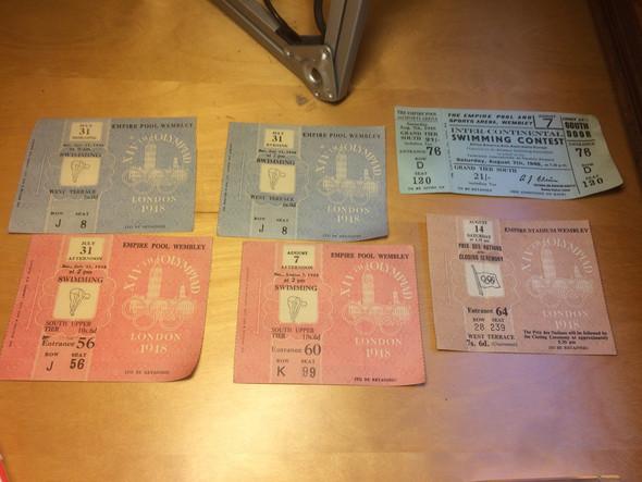 Tickets - (Wert, Olympische Tickets)