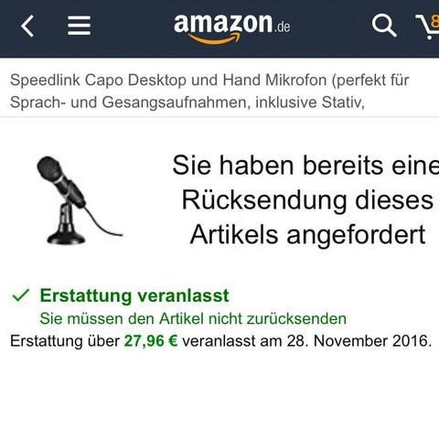 Ich verstehe das nicht. - (Amazon)