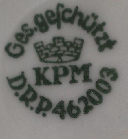 Teil von unten - (DDR, Porzellan, Keramik)