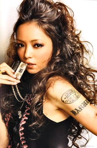 Namie Amuro - (Musik, Tattoo, Japan)