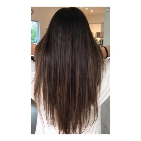 Stufenschnitt Lange Haare Hinten V Mittellange Haare