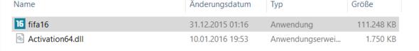 Es geht trotzdem nicht - (installieren, fifa 16, Core Activation64.dll)