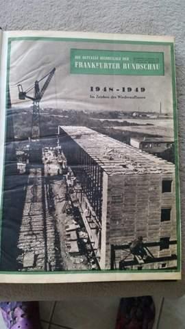 Ich habe ein Buch von den Sonntags Zeitungsausgaben vom ganzen Jahr 1949. Weiß jemand vielleicht wie viel sowas wert ist?