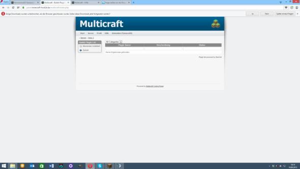 Ich Habe Ein Mc Host Server Aber Bei Plugin Liste Kommt Immer - Minecraft spieler server finden