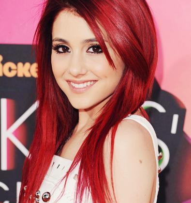 Haare rot gefarbt nur ansatz rot