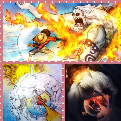 IM WASSER! - (One Piece, Feuer)