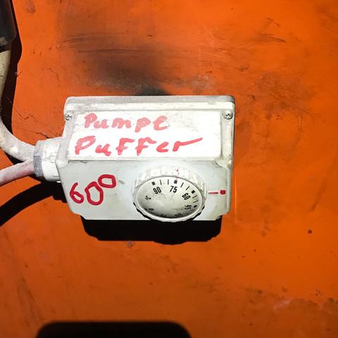 Pumpensteuerung für Pufferspeicher - (Installation, Heizung, Warmwasser)