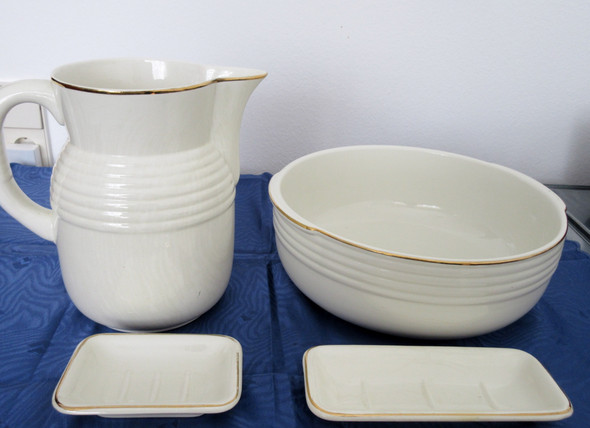 Waschkonvolut - (Hersteller, Porzellan)