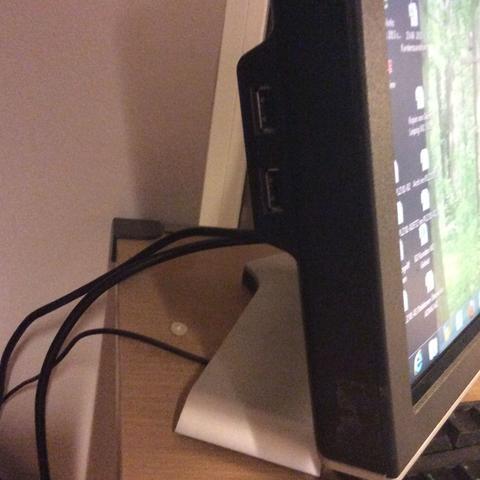 Seitenansicht 2x USB  - (Hardware, Monitor, DELL)