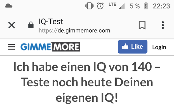 Iq über 140