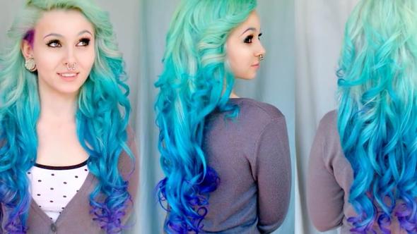 Ich habe kurze Haare und mache mir extension (echthaar) kann ich mir die mit directions färben/tönen?oder sollte ich es lassen es soll so aus sehen ?