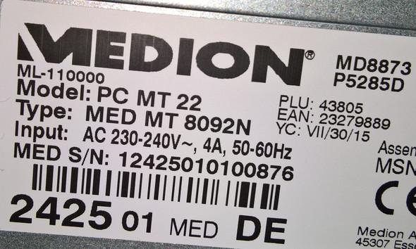 Medion  - (PC, RAM, DDR3)