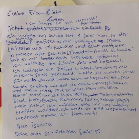 Daasss - (Brief, Lehre)