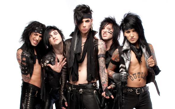 Black Veil Brides - (Liebe, Black Veil Brides, Andy Biersack Six)