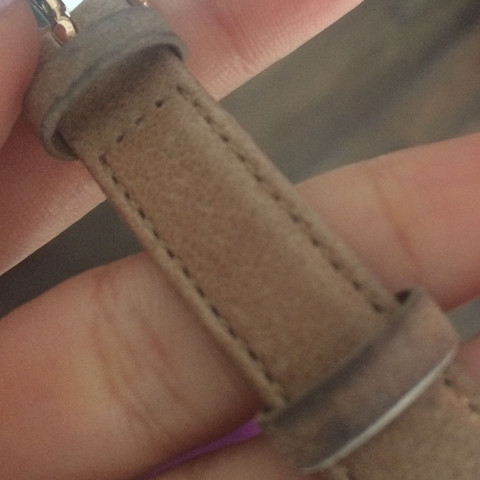 Schwarze Verfärbung - (Schmuck, Uhr, Fossil)
