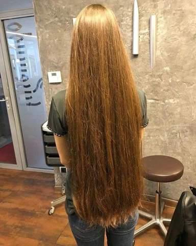 Ich habe Po lange Haare soll ich sie bis zu den Schultern