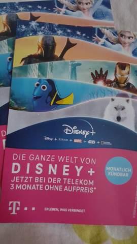 Telekom Disney Plus Zugangsdaten