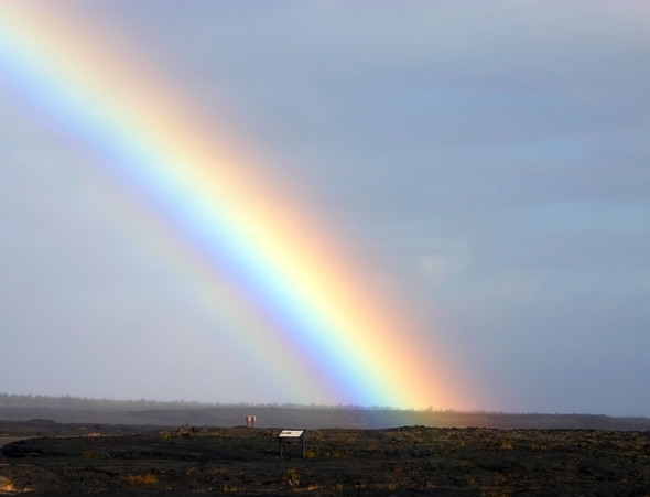 Regebogen unsichtbarer Farbe - (Wissenschaft, Regenbogen, farblehre)
