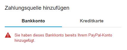 Kann Nicht Mehr Mit Paypal Bezahlen