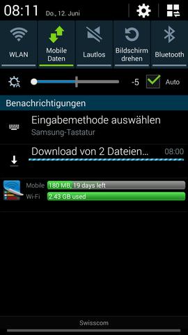 screenshot - (Download, Samsung Galaxy s4)