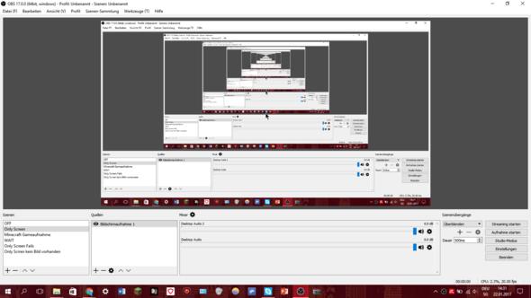 so sieht OBS aus - (Computer, Youtube, Windows 10)
