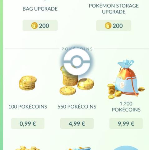 Pokémon Go Pokémon Münzen Kann mir nichts kaufen  App In-App Käufe  - (iPhone, Pokemon, AppStore)