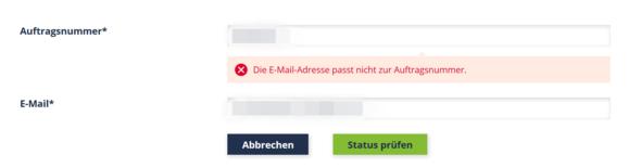 Paket verfolgen funktioniert nicht - (Handy, Smartphone, Post)