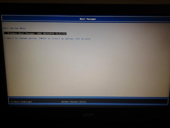 Danach (Bei dem davor wo ich auf OK gedrückt hab) - (Computer, Technik, Windows 10)