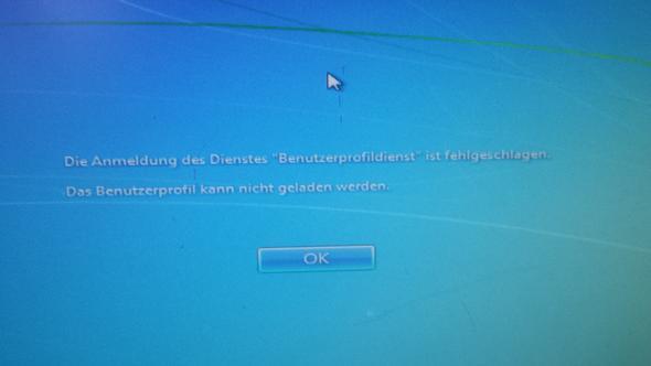 das ist der Fehler - (Computer, PC, Windows 7)