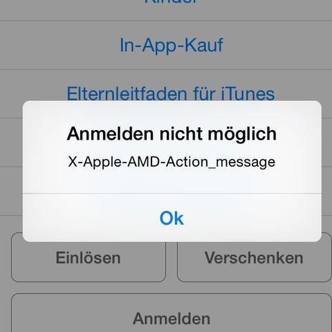 Das steht da wenn ich mich anmelden möchte - (iPhone, Email, anmelden)