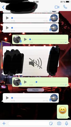 """Ich kann mir bei WhatsApp die Sprachmemos nicht mehr """"am Ohr"""" anhören?"""