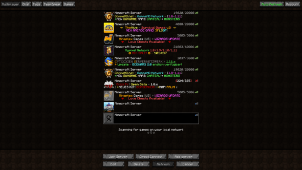 cant connect to server - (PC, Technik, Minecraft)