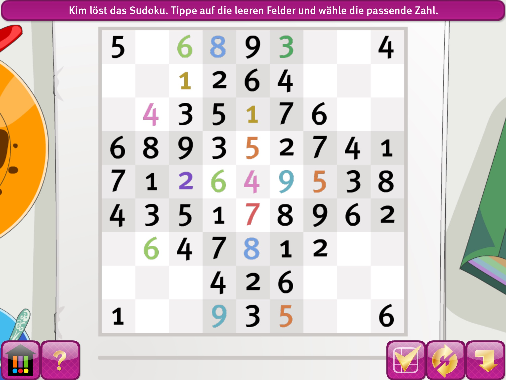 Ich komme bei diesem Sudoku nicht weiter. Kann mir wer helfen? (App ...