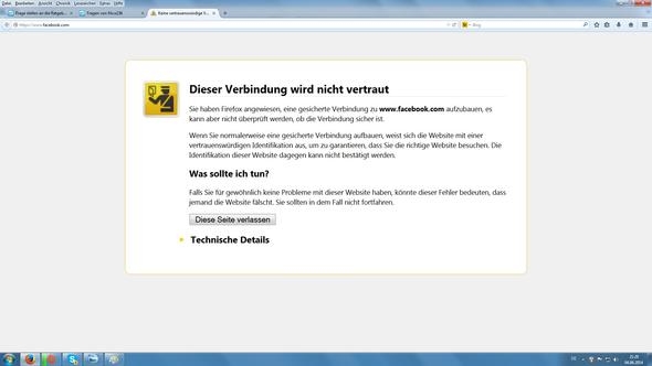 das bild - (PC, Facebook, Firefox)