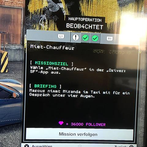 """Miet Chauffeur"" wo ist das amk ?  - (Spiele, Games, PS4)"