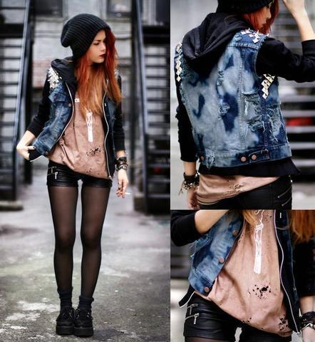 Grunge1 - (Mädchen, Style, Veränderung)