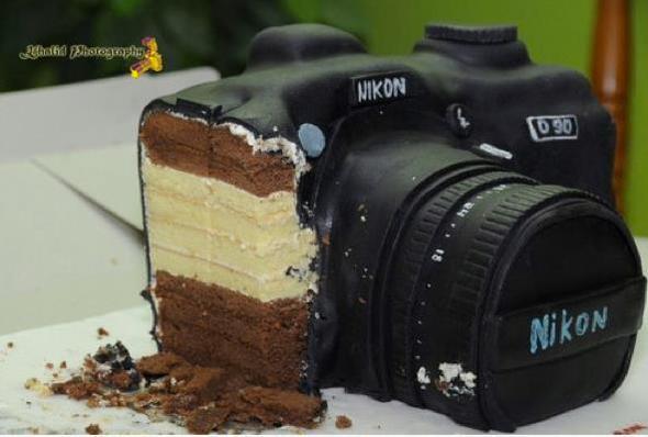 So ungefähr sollte es sein - (Kamera, backen, Kuchen)