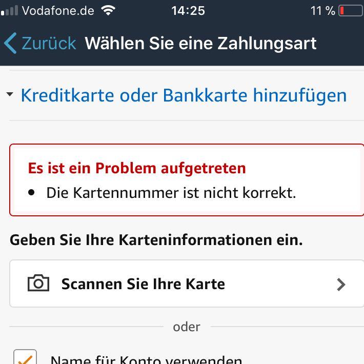 Kartennummer Ec Karte Commerzbank.Ich Mochte Etwas Von Amazon Bestellen Aber Irgendwie