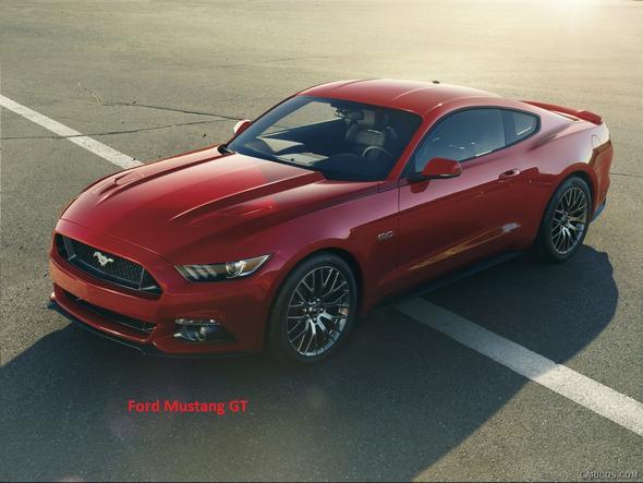 Ford Mustang GT 2015 - (Auto, Aussehen, Sportwagen)